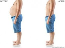 This is from the perspective of a man. Notice the way the back straightens without the weight to balance at the midsection.