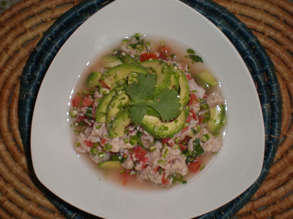Authentic mexican ceviche recipe for Mexican fish dishes