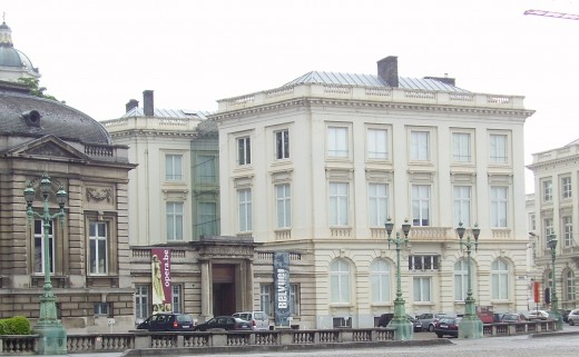 The BELvue museum at the Bellevue Hotel, Brussels