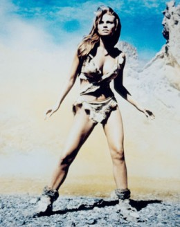 """""""Loana the Fair One"""" seems to be making excellent progress on the Cave Girl Diet (Raquel Welch in One Million Years BC)"""