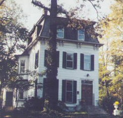 Westfield,NJ house that inspired that of the Addam's Family
