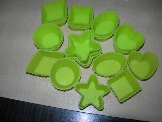 silicon candy molds