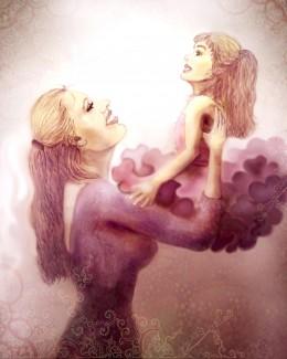This is an original artwork by Elayne Kongaika - Copyright