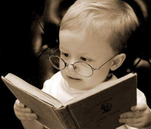 I read 12 books a day at the age of two.