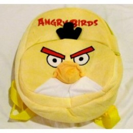 Angry Birds Backpack Yellow