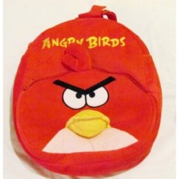 Angry Birds Backpack Red