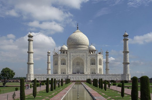 The Taj In Its Resplendent Glory