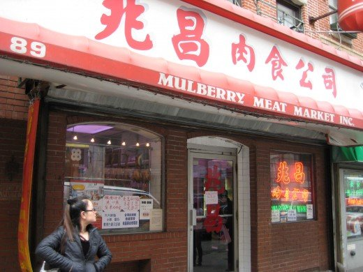 Mulberry Meat Market on 89 Mulberry Street