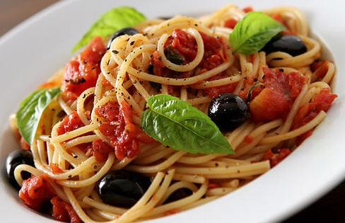 Meatless Pasta - Vegetarian Spaghetti