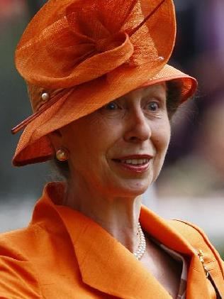 Princess Anne in a rare, animated shot. Photo from Reuters
