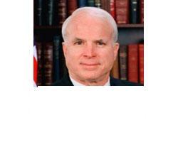 Senator John McCain, R-Arizona