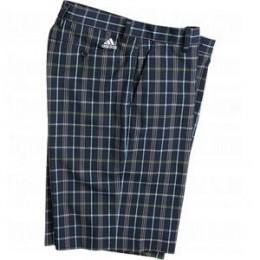 Adidas Mens Full-Length Plaid Shorts