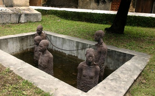 """Memory for the Slaves"" in Zanzibar, by Clara Srns. 1998."