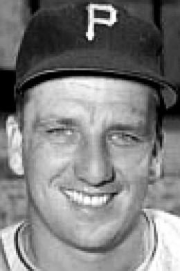 Pittsburgh slugger Ralph Kiner