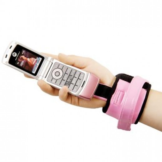 Cell Phone Wrist Carrier