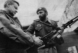 1981- Osama meets with a US official in Pakistan