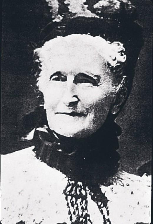 Mrs. P.F.E. Albee - 1st Avon Representative