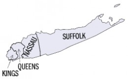 Counties of Long Island.