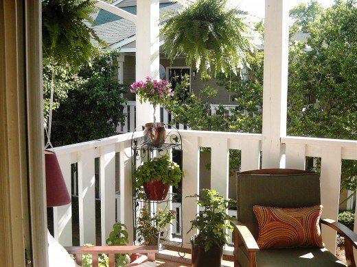How to decorate an small patio on a budget before and for Small balcony ideas on a budget