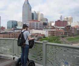 Music City from the Pedestrian Bridge
