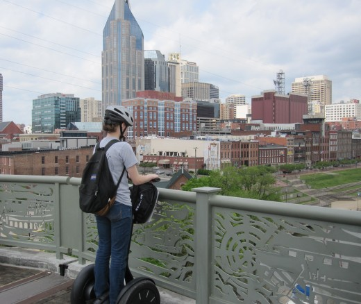 Music City from the Pedestrian Bridge