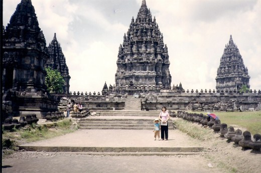Perambanan temple, one of Hindu temples erected by Mataram Dynasty.