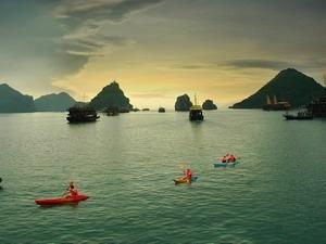A shot of Halong bay