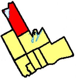 Map location of Brock Township in Ontario's Durham region