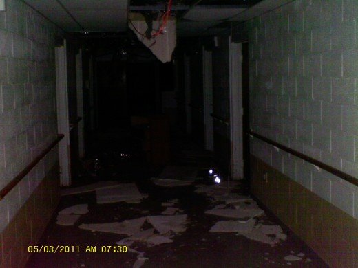 One Of The Hallways In The Old Shut Down Unique Living Center In Lawndale North Carolina