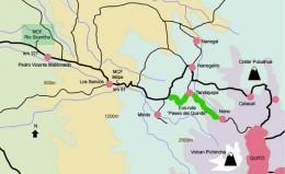 Map to Rio Silanche Bird Sanctuary