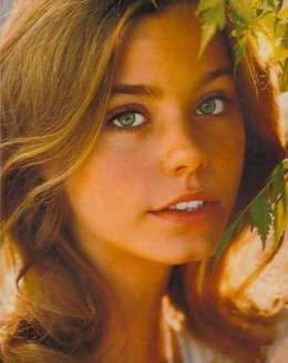 Susan Dey used to be a model before her succesful role as Laurie Partridge in The Partridge Family.
