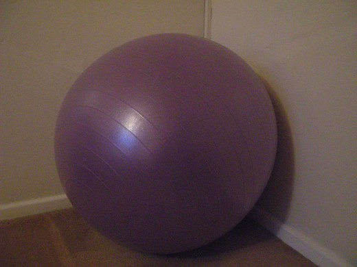 Swiss Balls are a great tool to recruit stabilising core muscles