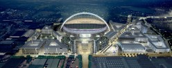 Wembley Stadium and its planned surrounds