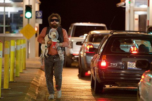 Ethan Tremblay (Zach Gafilianakis) in Due Date