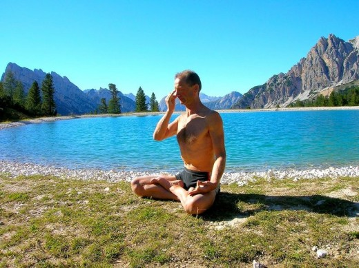 Pranayama is used in conjunction with Meditation