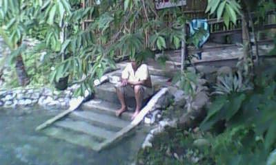 kiddie pool at Bokal Bokal Spring