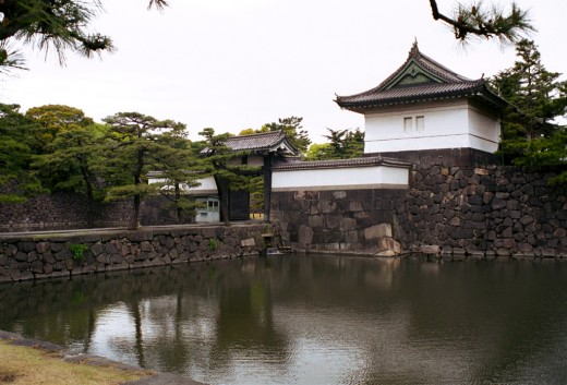 The Imperial Palace. It is built on the site of the old Edo castle.