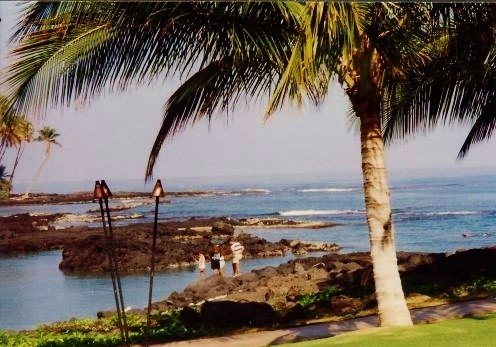 Big Island of Hawaii - View from Ritz-Carlton Mauna Lani Resort