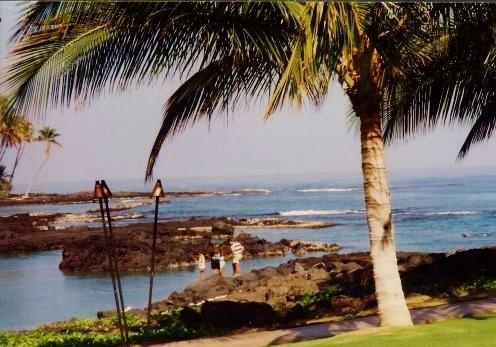 Big Island of Hawaii - View from Ritz-Carlton Mauna Lani Resort
