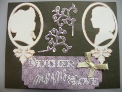 Easy to Make with Cricut Card Idea- Mother's Day