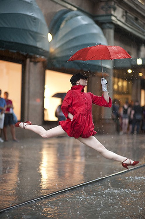 Taking a Leap of Faith. It is still Raining in my Universe.