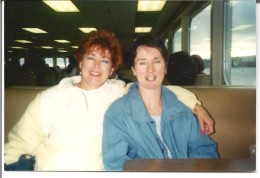 Mom and I back in the 90's riding the Seattle/Bremerton ferry. What a day we had.