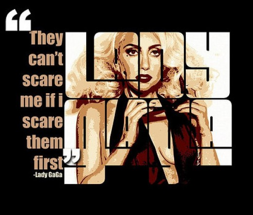 They can't scare me if I scare them first.