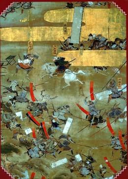 Battle of Kawanakajima in 1561.