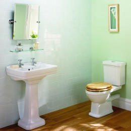 cottage house bathroom suite
