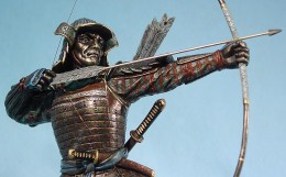 Samurai also used bows and arrows.