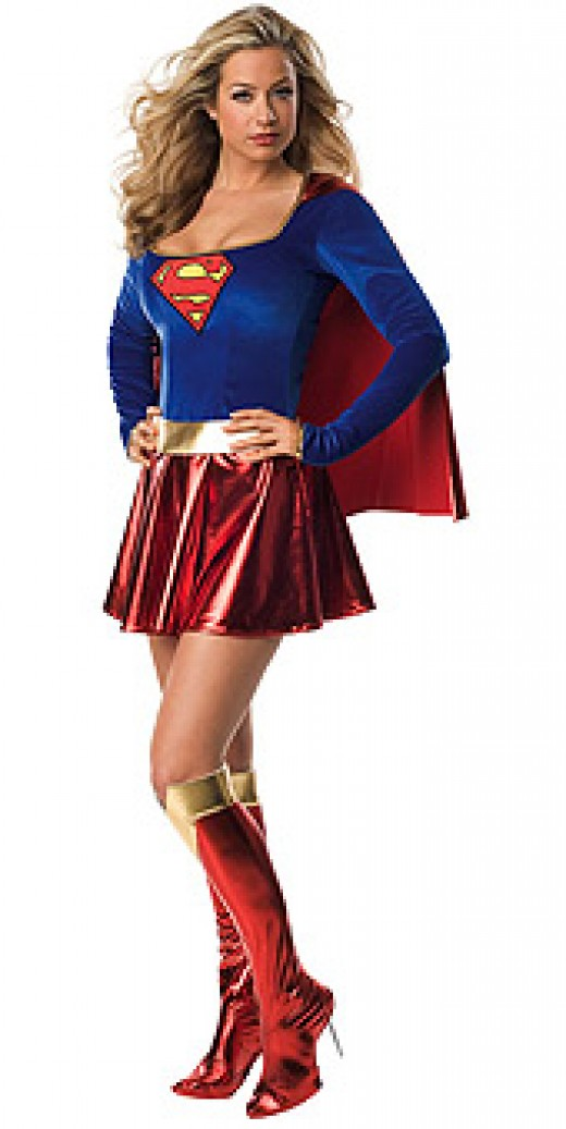 Super Girl - Ladies Sexy Costume