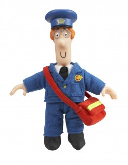 This is not Postman Pat, but merely another postman who modelled himself on Postman Pat, and indeed was an avid collector of Postman Pat memorabilia.
