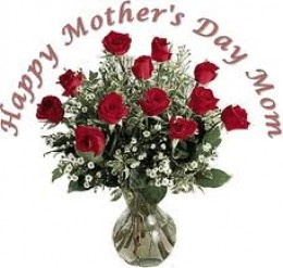 Happy Mother's Day from all of the mothers in America.