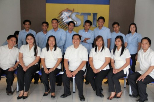 My colleagues in STI-College Dagupan, those who are clad in blue uniforms are instructors and the girls in the pictures are licensed teachers as well. Those that sports the yellow uniforms are administrative albeit two of 'em have some teaching loads